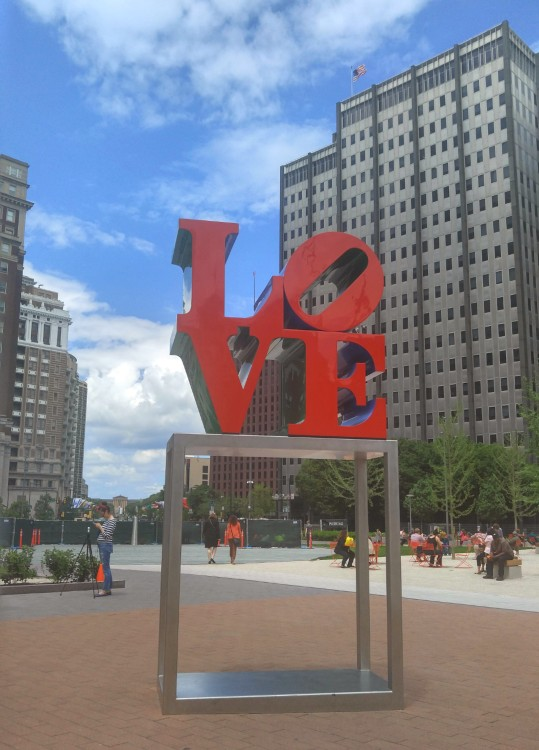 Philadelphia sera conocida como City of Sisterly Love